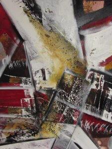 red Move von Albers Kunst