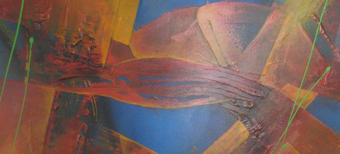 Blick in den Hintergrund von Albers Kunst